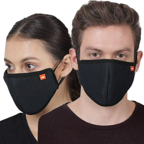 Wildcraft Hypashield W95 Mask [single Piece] Reusable Outdoor Protection Mask image